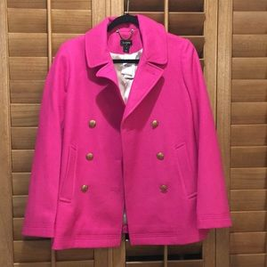 NWT Gorgeous J. Crew Factory Pea Coat